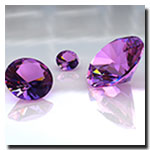 Amethyst is February's gemstone of the month