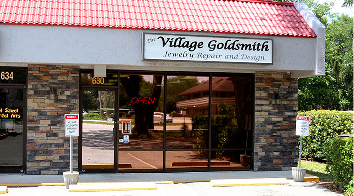 The Village Goldsmith welcomes you
